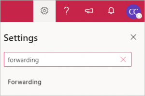 click forwarding in search results