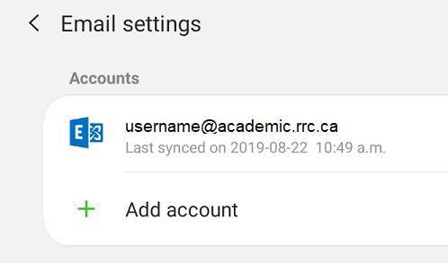 tap + add account