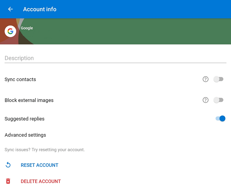 tap delete account