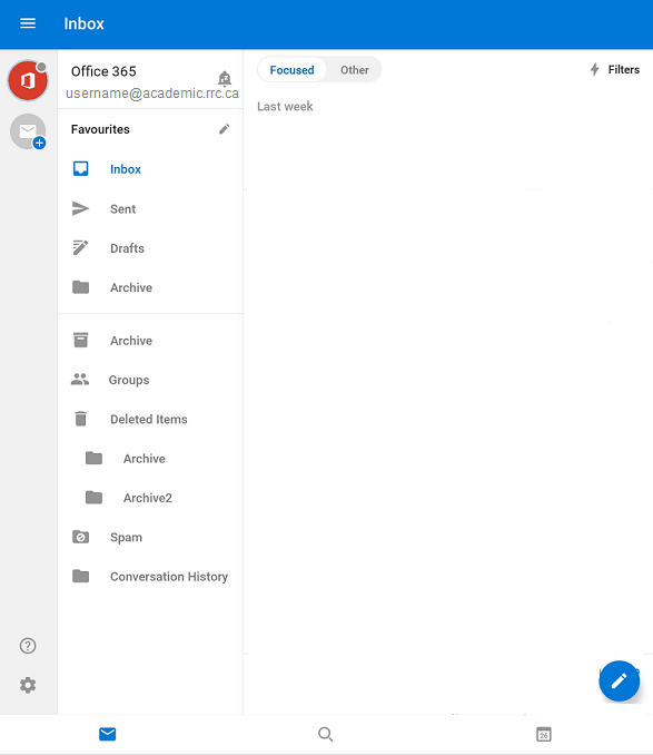 new inbox