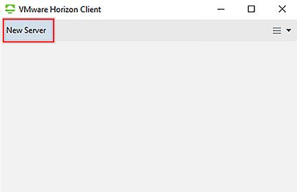 new server button