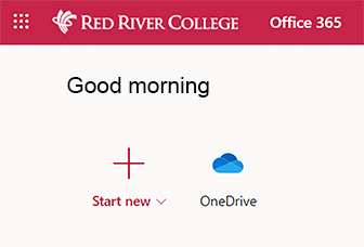 click on onedrive