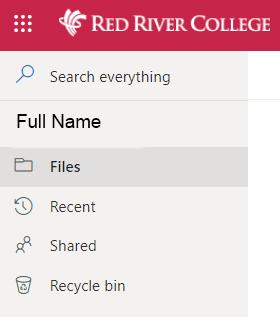 click recycle bin
