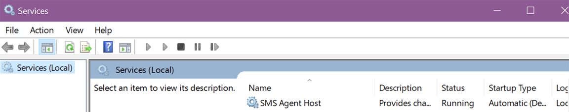 click sms agent host