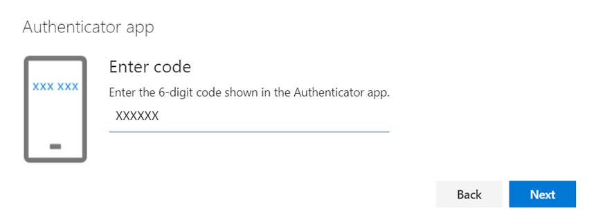 paste the code you copied and click next