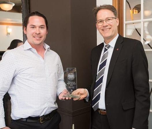 BRAVO Award Program winner Brady Barron