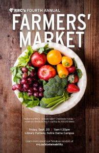 Farmer's Market 2019 poster