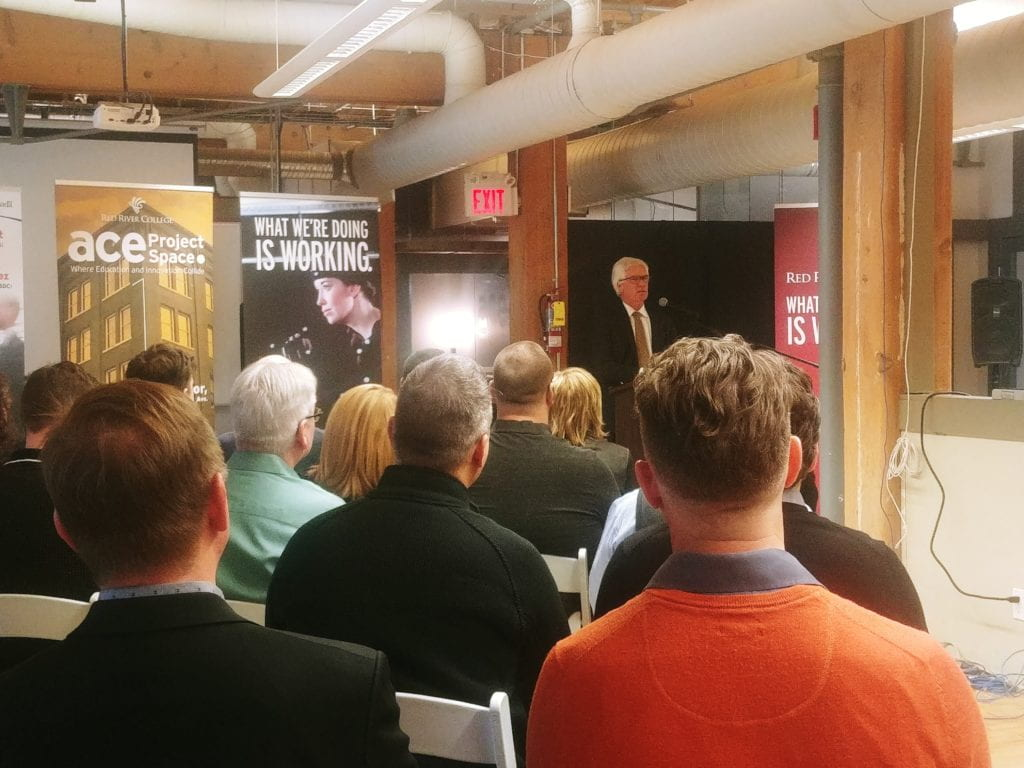 Minister Jim Carr visits ACE Project Space