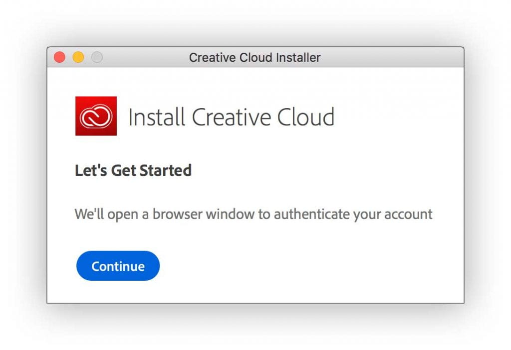 Creative Cloud Installer