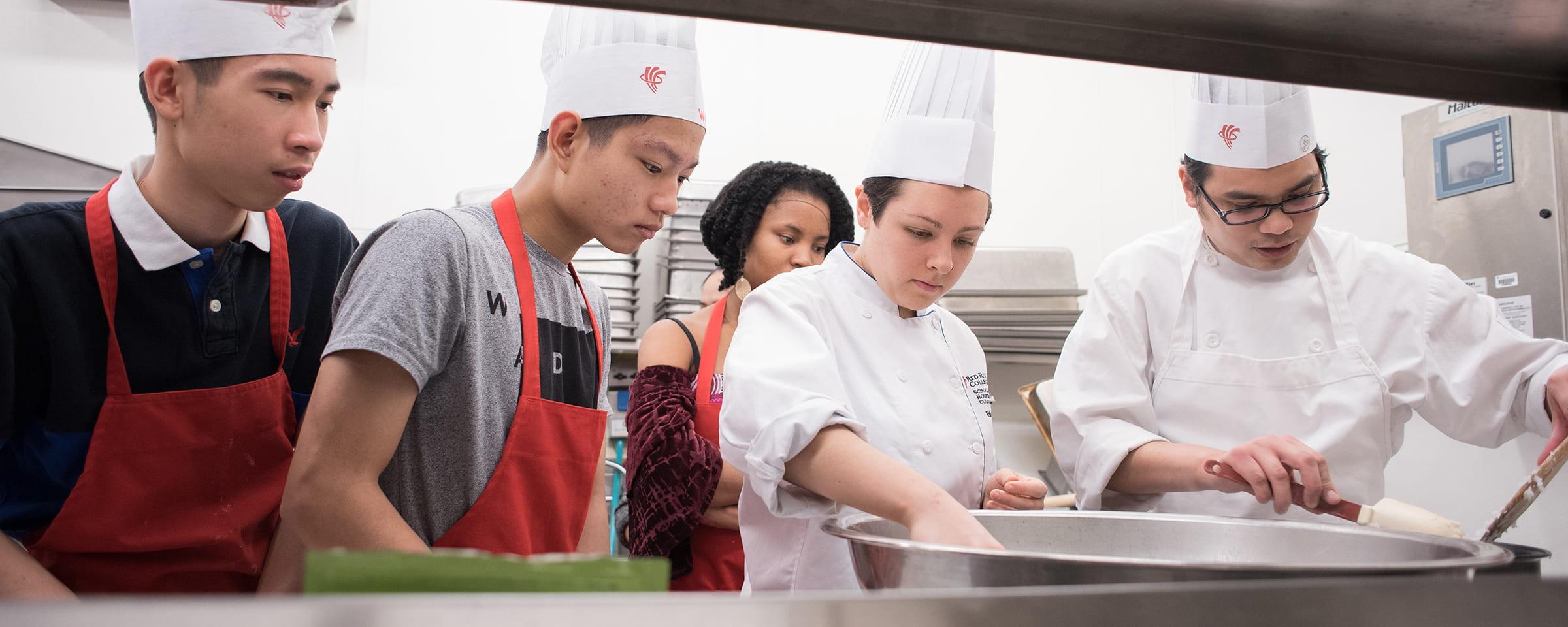 RRC After School Leaders – Culinary Arts program