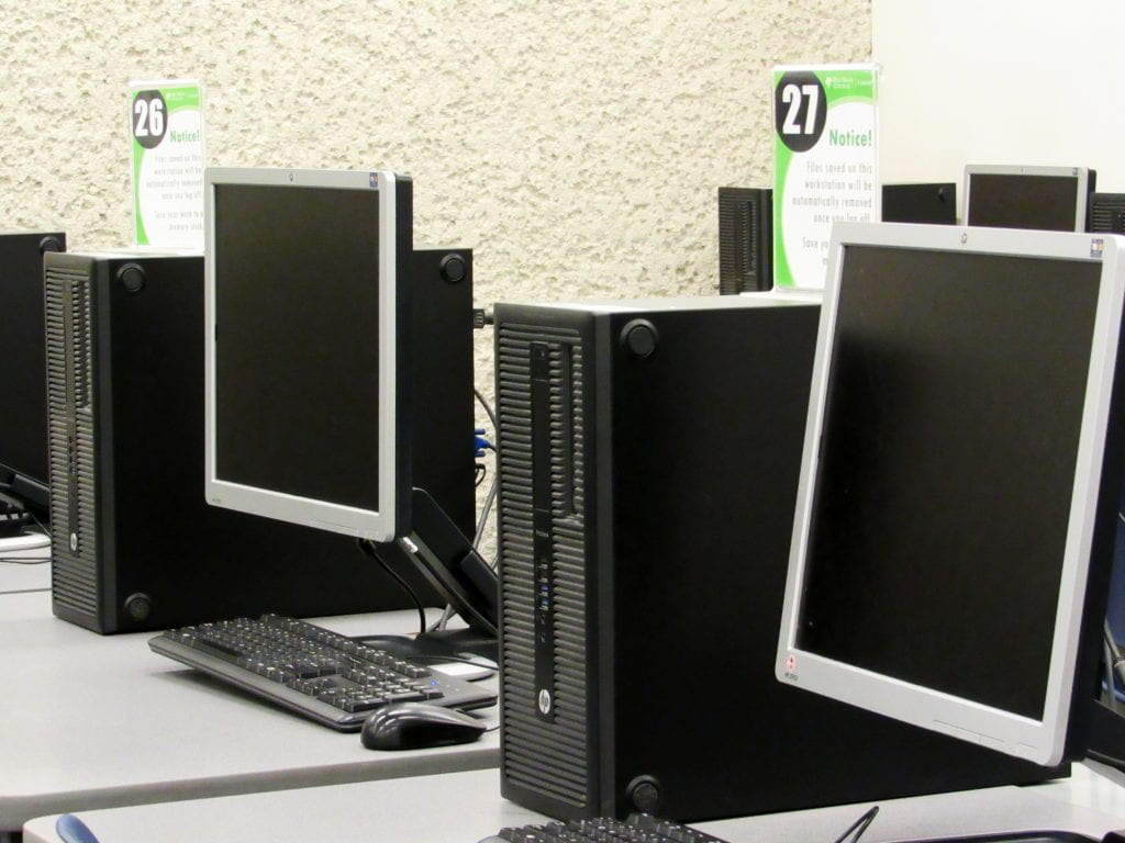 Computers for student use