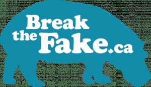 MediaSmarts' Break the Fake logo
