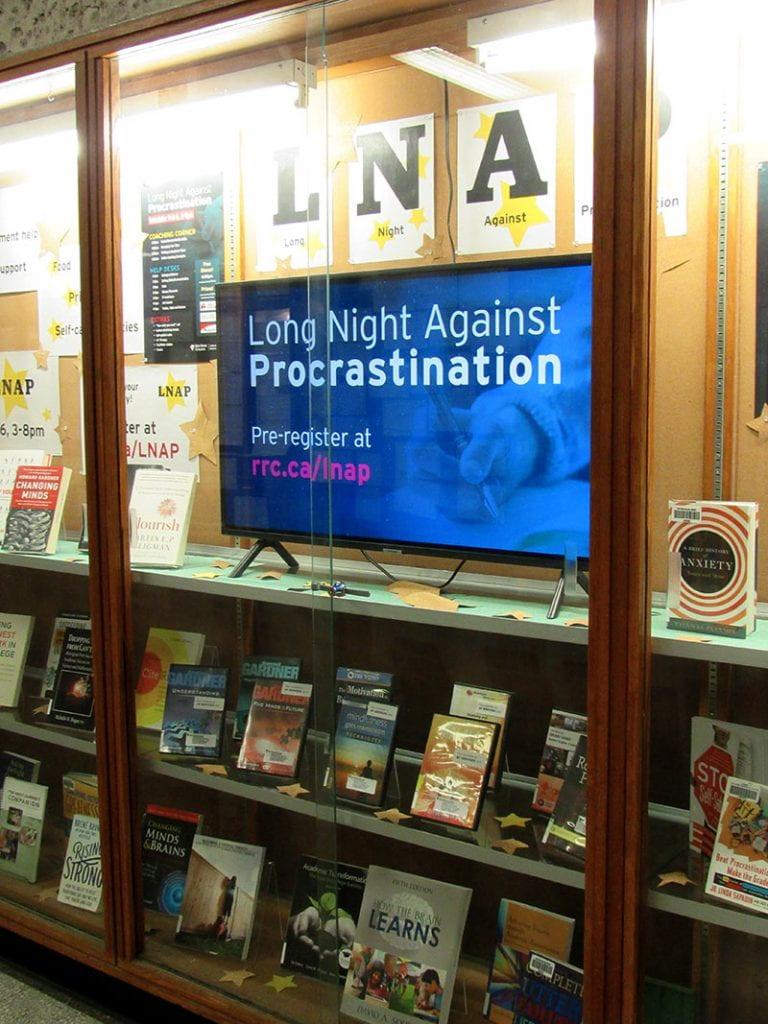 LNAP Window Display