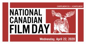 National Canadian Film Day logo