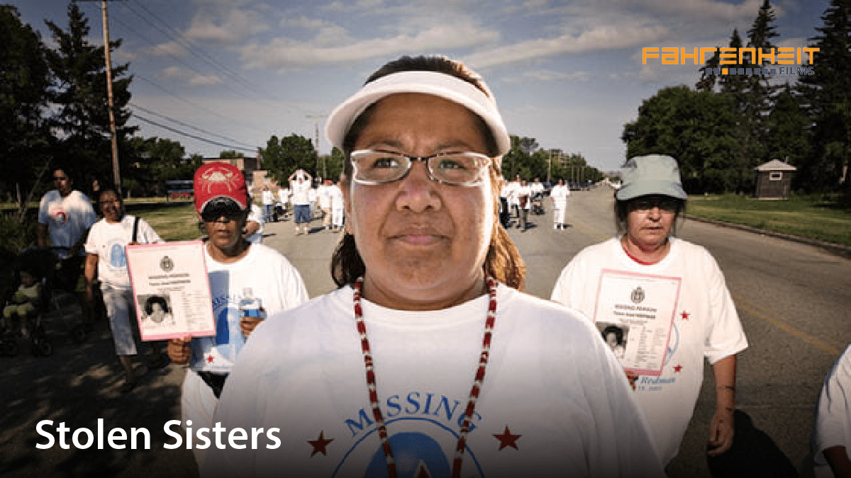 Women participating in an awareness march. Film title: Stolen sisters