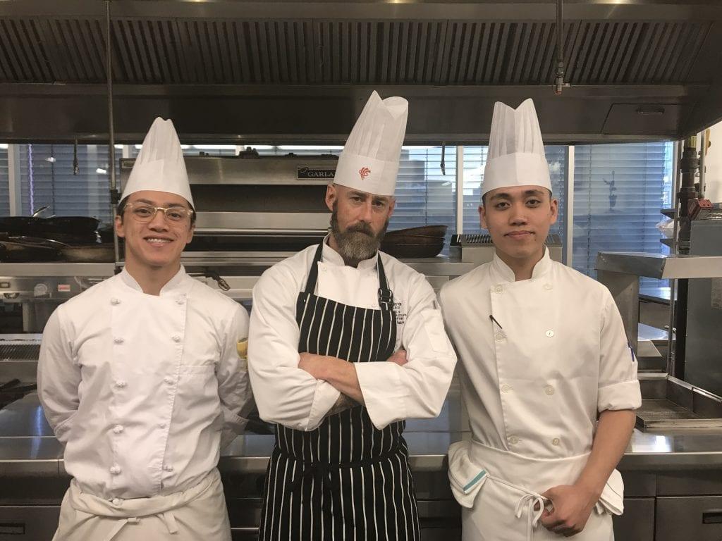 Anthony Calino, Gordon Bailey and Argie Garcia