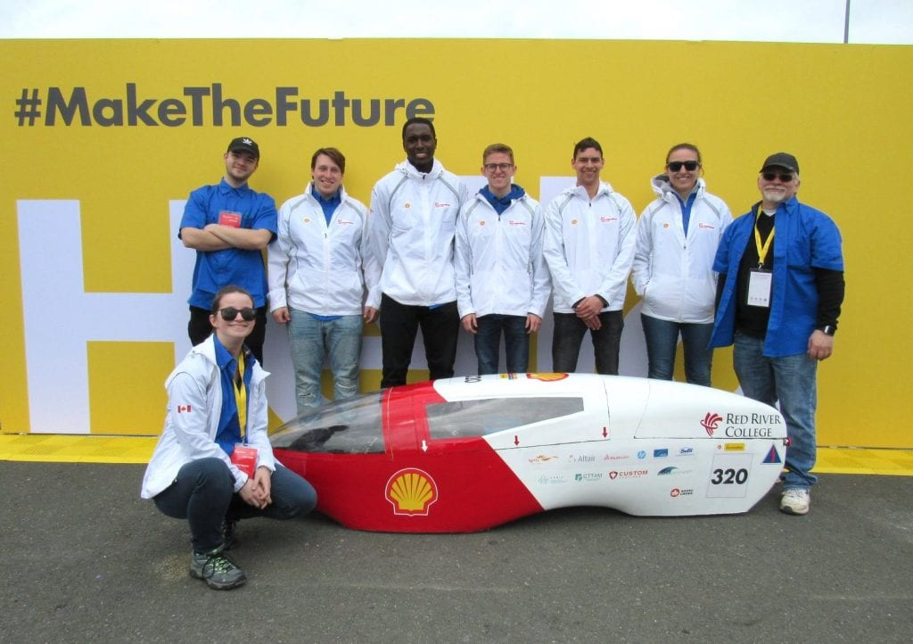 RRC Eco-marathon team