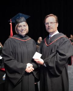 Adele Petri, Spring Convocation