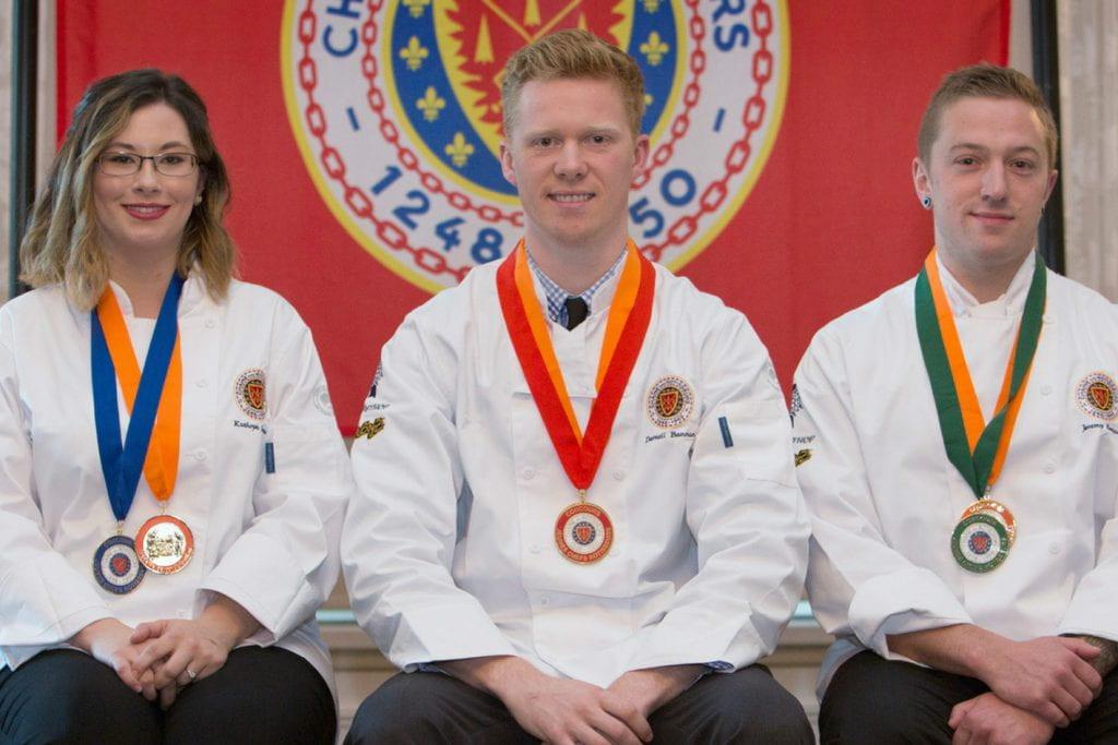 Darnell Banman, La Chaine des Rotisseurs competition, Canada