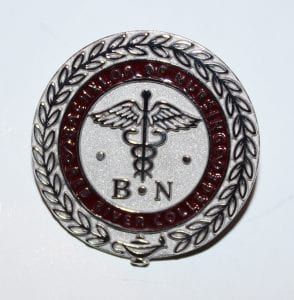 Bachelor of Nursing pin