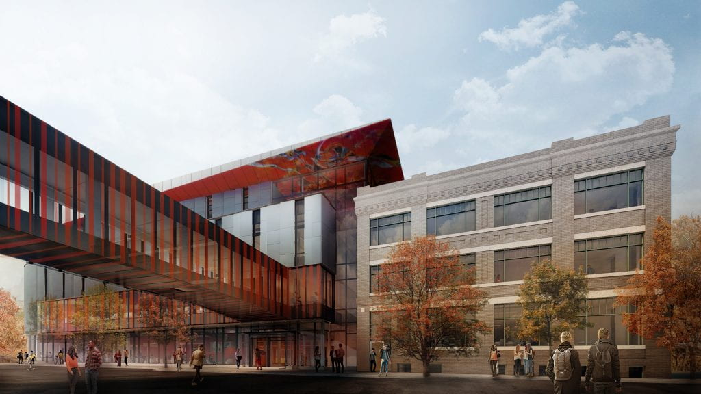 Rendering of RRC's Innovation Centre