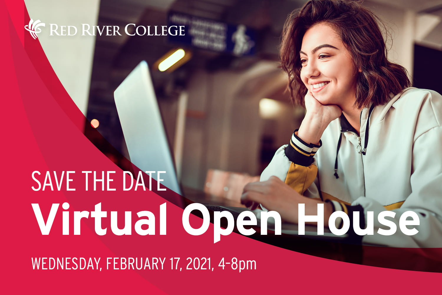 Virtual Open House poster