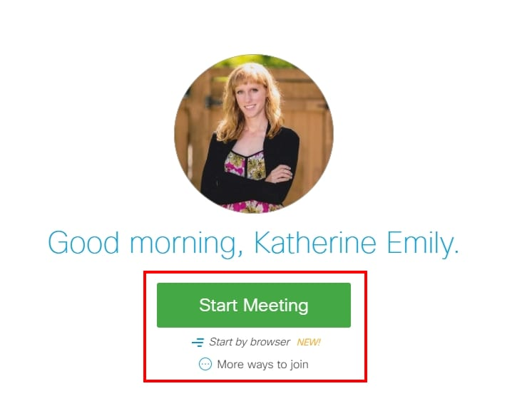 "Your Own Personal Meeting Room;With WebEx you have your own meeting room where you can start meetings and invite participants at any time. Simply link to your own meeting room (http://redrivercollege.webex.com/meet/username) and students can join whenever you are ""in"" your virtual meeting room."