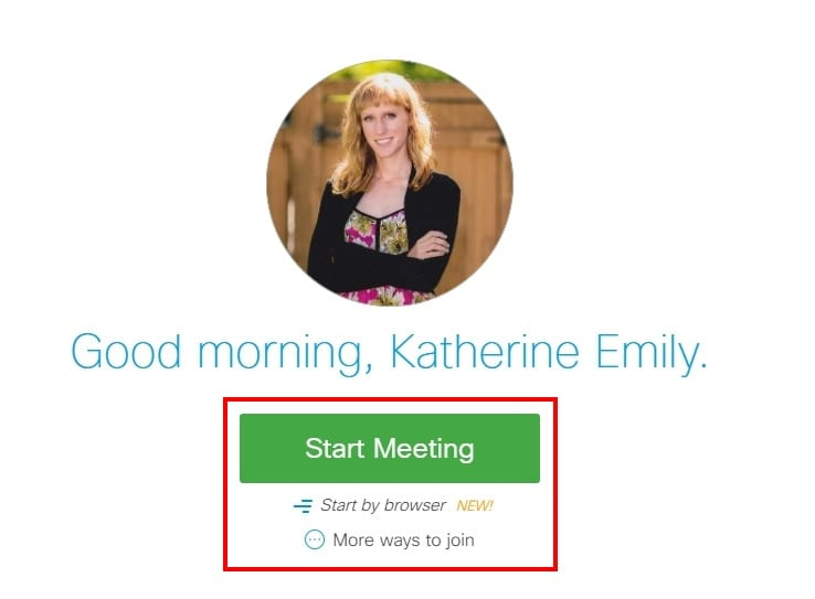 Create Meetings Quickly and Easily;With WebEx you have your own personal meeting room (http://redrivercollege.webex.com/meet/username) that you can start any time and can invite anyone to join. No more scheduling meetings and setting up meetings rooms, just start a meeting, invite using email, and go.