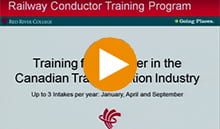 Railway Conductor program information session video