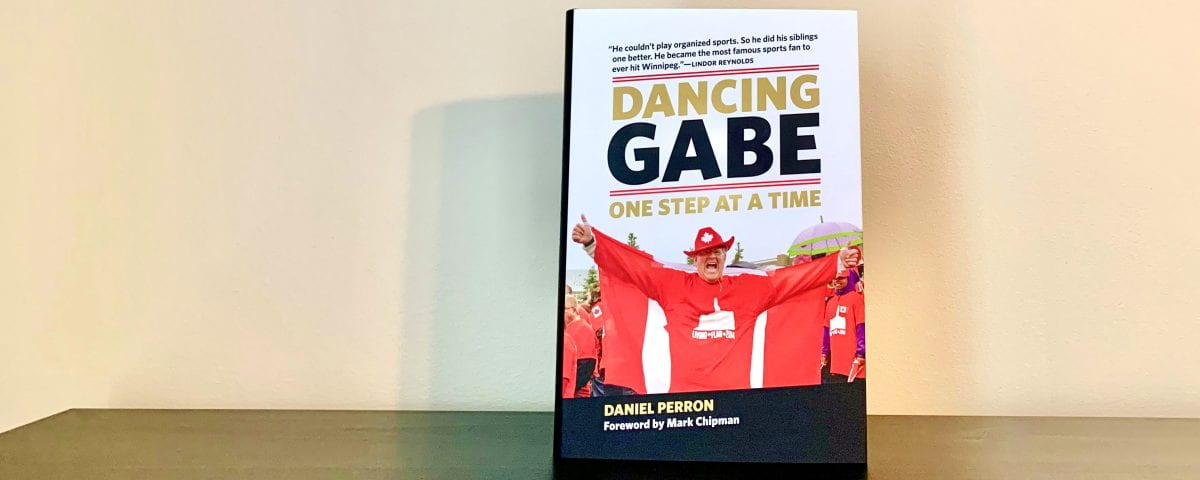 An image of Dancing Gabe's book