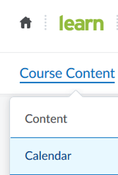 Screenshot of LEARN