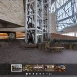 Photo of eTV panorama of the Canadian Museum for Human Rights that was gamified by TOTT
