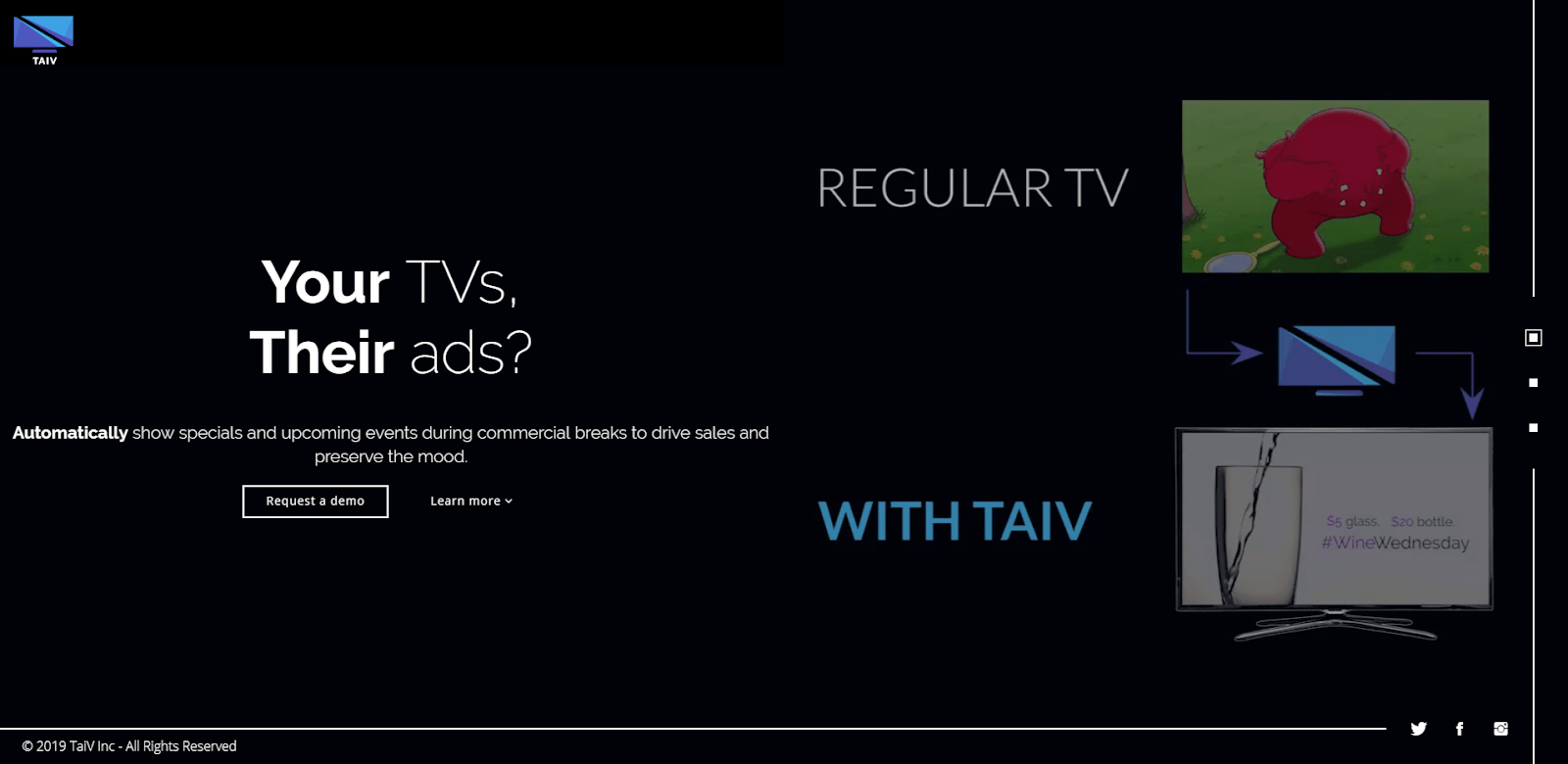 TAIV home page