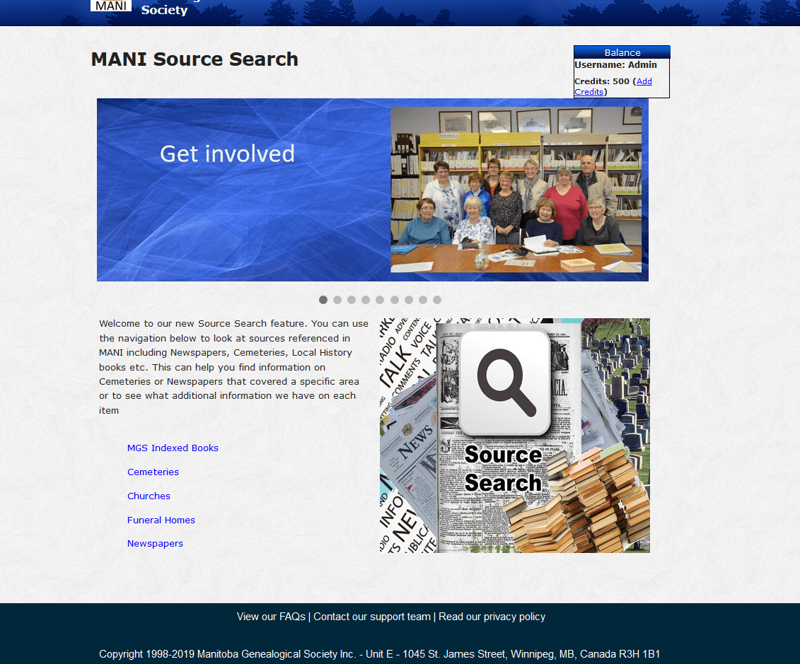 Source Search