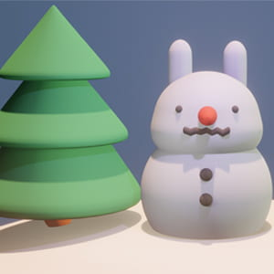 3D modelling camp creation